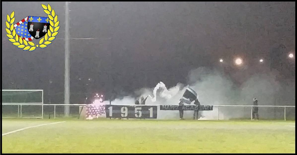 "[CFA2] Tours - Chateauroux 2014/15 ""HAPPY ACAB DAY"""