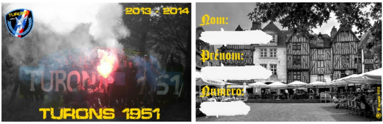carte de membre Saison 2013/14