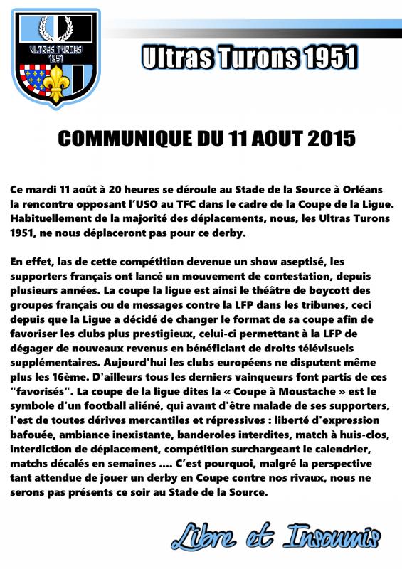 Communique cdl2015