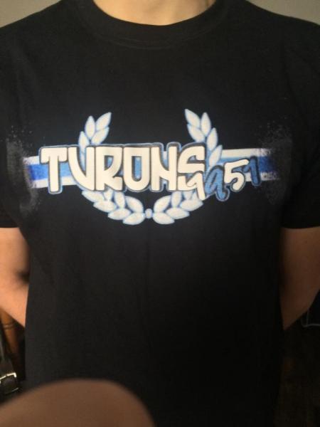 Tshirt turons 2015 limite